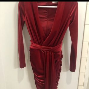 House of CB Farrah Red Dress